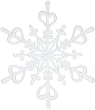 Koziol Flake L solid weiß (1125525)