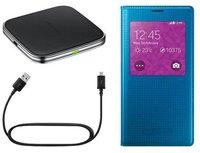 Samsung Induktives Lade-Set Viewcover+ blau (Galaxy S5)
