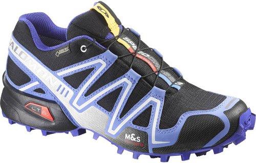 Salomon Speedcross 3 GTX W black/petunia purple/spectrum blue