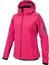 CMP Campagnolo Women Softshell Jacket Zip Hood (3A05396) Scarlet-Porto