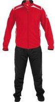 Stanno Kinder Forza Polyester Anzug rot/weiß/schwarz