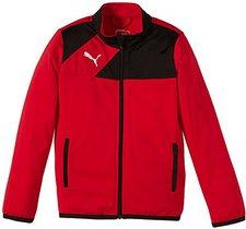 Puma Kinder Esquadra Polyesterjacke red/black