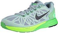 Nike Lunarglide+ 6 dove grey/poison green/flash lime/black
