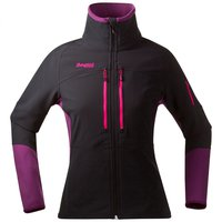 Bergans Visbretind Lady Jacket Black / Plum / Hot Pink