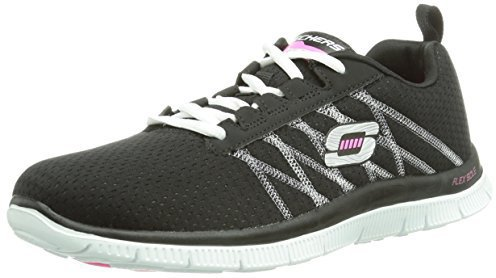 Skechers Flex Appeal Something Fun black/white