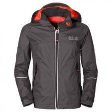 Jack Wolfskin Kids Crosswind Texapore Jacket Dark Steel