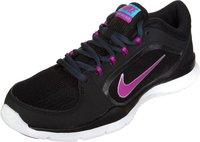 Nike Flex Trainer 4 Wmn black/fuchsia flash/classic charcoal/clearwater
