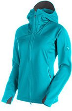 Mammut Ultimate Hoody Women Pacific-Light Pacific
