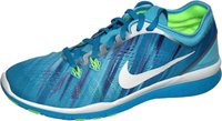 Nike Free TR 5 PRT Wmn clearwater/white/blue lagoon/flash lime