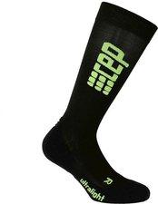 CEP Run Ultralight Socks Women black / green