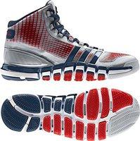 Adidas adipure Crazyquick silver metallic/grey/red