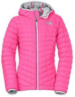 The North Face Girl's Thermoball Hoodie Gem Pink
