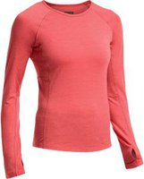 Icebreaker Zone Long Sleeve Crewe Women grapefruit / night