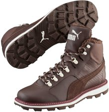 Puma Tatau Fur chocolate brown/chocolate brown