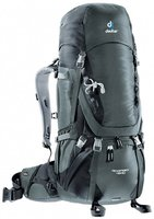 Deuter Aircontact 45+10 granite/black