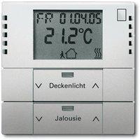 Busch-Jaeger Raumtemperaturregler mit Tastsensor 2fach (6128-866)