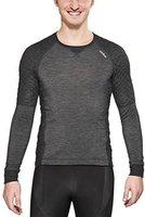 Odlo Revolution TW X-Warm Shirt L/S Men black melange