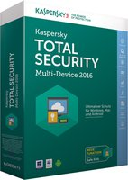 Kaspersky Total Security Multi Device 2016 (3 Geräte) (1 Jahr)