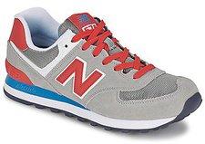New Balance WL574 grey/red (WL574MON)