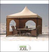 Grasekamp Seitenteile für 4x4 m Lounge Pavillon