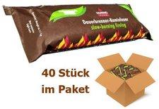 Kamino Flam Dauerbrenner-Kaminfeuer Palmöl 40 Stück