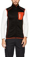 Ortovox Merino Fleece Vest Men Black Raven