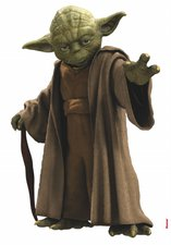 Komar Wandtattoo Star Wars Yoda (14721)