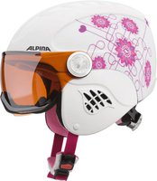 Alpina Eyewear Carat Visor white-pink