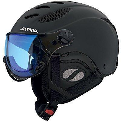 Alpina Eyewear Jump JV Varioflex black matt Varioflex mirror