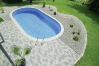 D&W Pool Lago SB 800 x 400 x 150 cm