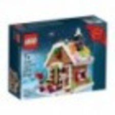 LEGO Weihnachtliches Lebkuchenhaus (40139)