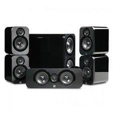 Q Acoustics 3000 5.1 Cinema Pack schwarz
