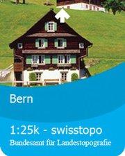 Satmap Schweiz: Bern 1:25k