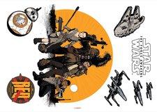 """Komar Wandtattoo Star Wars  """"Resistance """" (14025)"""