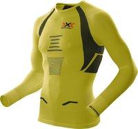 X-Bionic The Trick Running Shirt Long Sleeves Men yellow sunshine