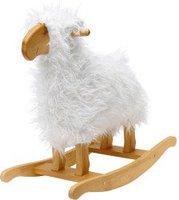 Teddykompaniet Rocking Animal Schaukeltier Lamm Weiß