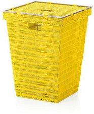 Kela Noblesse Wäschekorb gelb (22628)