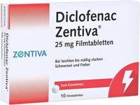 Winthrop Diclofenac Zentiva 25 mg Filmtabletten (10 Stk.)