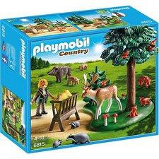 Playmobil Country Waldlichtung mit Tierfütterung (6815)