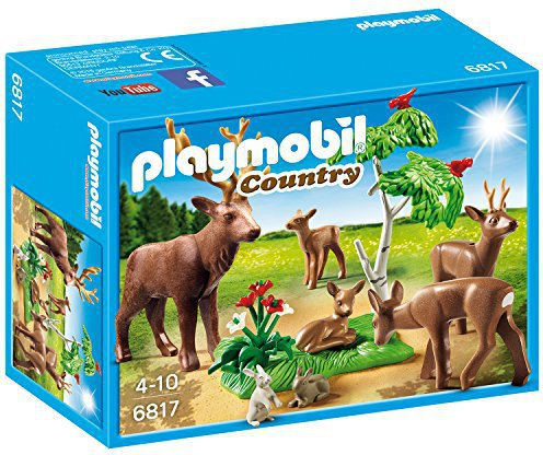 Playmobil Country Hirsch mit Rehfamilie (6817)