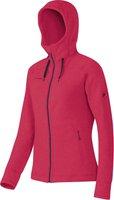 Mammut Arctic Hooded Midlayer Jacket Women Light Carmine