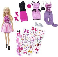 Barbie Fashion Activity Set (CDM12)