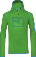 Ortovox Merino Fleece Logo Hoody M Absolute Green