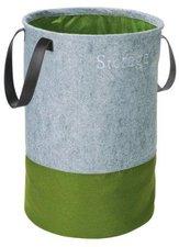 Wenko Pop-Up Wäschesammler Filz grün (3440203100)