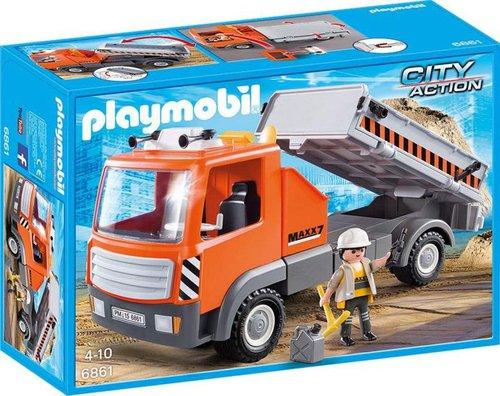 Playmobil City Action Baustellen-LKW (6861)