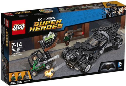 LEGO Super Heroes Kryptonit-Mission im Batmobil (76045)
