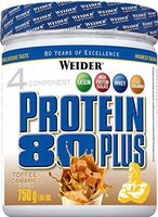 Weider Protein 80 Plus 750g Toffee Karamell