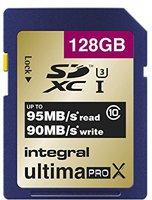 Integral UltimaPro X SDHC/SDXC 95/90MB C10 UHS-I U3
