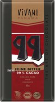 Vivani Feine Bitter 99% Cacao (80g)