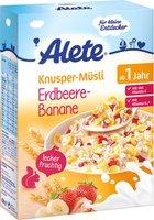 Alete Kleine Entdecker Knusper-Müsli Erdbeere Banane (450g)